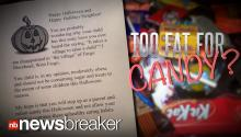 Mom Gives Shaming Letter Instead of Candy in Overweight Kids Halloween Bags