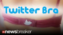 TWEET BRA: New Underwear Can Let Twitter Followers Know When You Are Topless