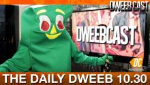 Gumby Guest-Hosts The Daily Dweeb!