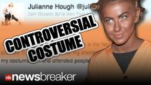CONTROVERSIAL: Julianne Hough's Poor Taste in Halloween Costume Sparks Outrage