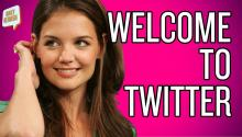 Tom Cruise's Reign Is Over: Katie Holmes Joins Twitter!