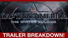 Captain America: Winter Soldier Trailer Drops!