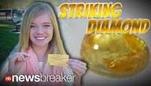 STRIKING DIAMOND: Teen Finds 4 Carat Yellow Tear Drop Diamond in Oklahoma Park