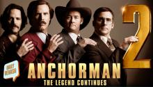 Anchorman 2 Trailer AND Ice Cream Flavor Revealed