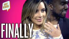 Kim and Kanye Engaged!