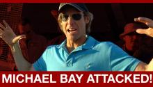 Michael Bay Attacked on Transformers 4 Set!