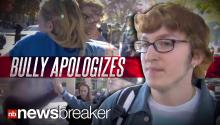 BRAVE: High School Student Stands Up to Bully With More Than 100 People Behind Him