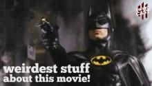 Weirdest Stuff About Batman 1989!