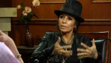 Linda Perry's Tear Tattoo
