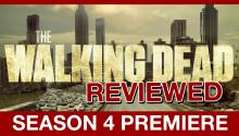 The Walking Dead Season 4 Premiere: IT'S RAINING ZOMBIES!