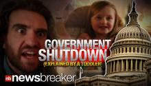HILARIOUS: Government Shutdown Explained By Toddler Who Refuses to Eat Peas