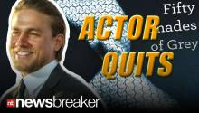 Reported Fan Frenzy Causes Charlie Hunnam to Quit '50 Shades of Grey' Movie