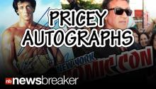 Sly Stallone, Other Stars Charge Tons of Money for Autographs at NY Comic Con