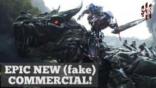 Epic (Fake) Transformers Commercial