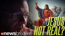 JESUS NOT REAL?: A Bible Scholar Says Jesus Was Made Up by Roman Empire to Pacify Masses