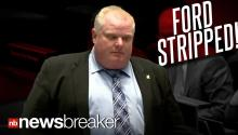 STEP DOWN!: City Council Votes to Strip Toronto Mayor Rob Ford of Some of his Duties