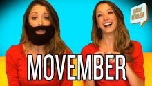 Taryn Southern Sings About Movember