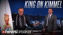 KING ON KIMMEL: Legendary Larry King Cracks Up Audience on Jimmy Kimmel Live