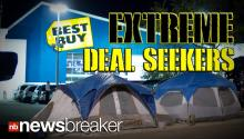 SHOPPER MANIA: Black Friday Deal Grabbers Camp Out at Best Buy More Than a Week Early