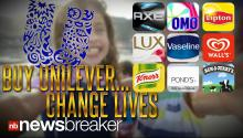 Brand Launches Campaign Urging Consumers to Make Changes & Buy Unilever Products