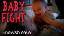 BABY FIGHT!: Video of Comedian Play Fighting with His Kid Goes Viral Causing Outrage