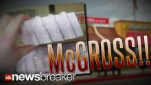 McGROSS!: Picture of Frozen White McDonald's McRib Meat Goes Viral Online