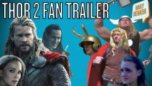 Thor 2: Dark World Opens Today - Fan Mash-Up Trailer