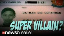 SUPER VILLAIN?: Batman Son of Superman Jailed in Singapore for Theft, Drugs