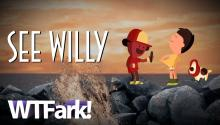 SEE WILLY: British Children's Charity Teaches Kids Not To Sext Dick Pics With Fun Cartoon!