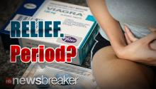 LITTLE BLUE PILL: Study Reveals Viagra Can Also Relieve Menstrual Pain