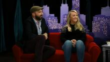 Tony Hale and Meghan McCarthy on Tiny Tiny Talk Show - Sneak Peek