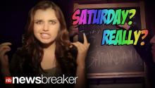 'Friday' Singer Rebecca Black Releases New Song About 'Saturday'