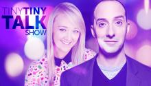 Tony Hale & Meghan McCarthy on Tiny Tiny Talk Show