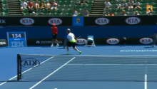That Awkward Moment When You Take A 121 MPH Tennis Serve To The Junk On Live International TV