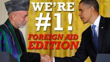 Jesse Ventura: We're #1! (Foreign Aid Edition)