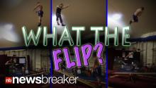 WHAT THE FLIP?!: Gymnasts Use Children's See-Saw to Show Off Incredible Athletics