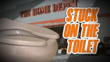 STUCK ON THE TOILET: Georgia Woman Glued to Seat at Home Depot