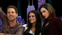 Jon Heder and Brittany Furlan on Tiny Tiny Talk Show - Sneak Peek