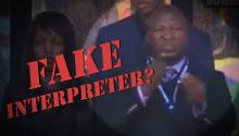 FAKE?: Outrage From Deaf Community After Interpreter at Mandela Ceremony Signs Incoherently