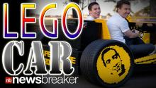 REAL LEGO CAR: Two Men Team Up to Create the Ultimate Boys Dream Project