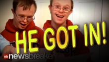 HE GOT IN!: Heartwarming Reaction of Boy with Downs Syndrome Accepted to Clemson University
