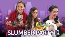 Gillian Jacobs, Tiffany Alvord & Whitney Rice Have A 30 Second Slumber Party!
