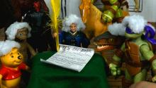 TOY HISTORY: Signing of the Declaration of Independence, July 4, 1776