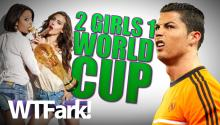 2 GIRLS 1 WORLD CUP: Various Nations Ban Nookie. Because Horny Players Play Harder.