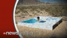 Secret Swimming Pool in Mojave Desert is Open to Anyone, You Just Have to Find It