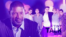 Dennis Haysbert and the Janoskians on Tiny Tiny Talk Show