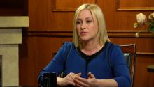 Patricia Arquette Talks Personal Experience With Domestic Abuse