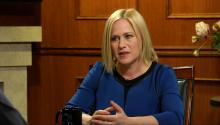 Patricia Arquette on Lack of Minority Nominees, Domestic Abuse, and More