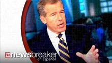 Brian Williams suspendido de NBC News por 6 meses por decir reportes falsos
