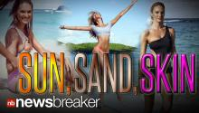 SUN, SAND, AND SKIN: Candice Swanepoel Shares VS Shoot